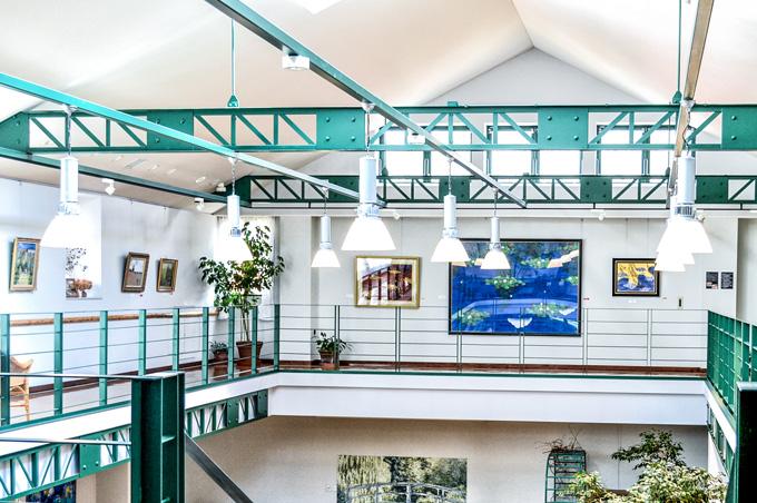 画像:ギャラリー展示スペース