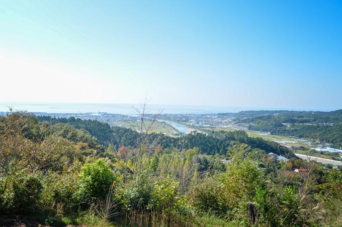 画像:風の丘展望台からの眺め
