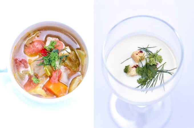 ランチセットスープ